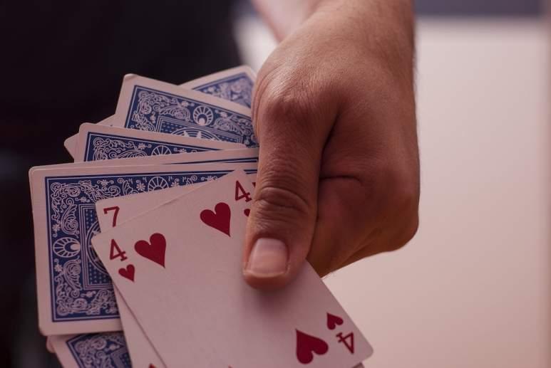 Ein Bild von Spielkarten